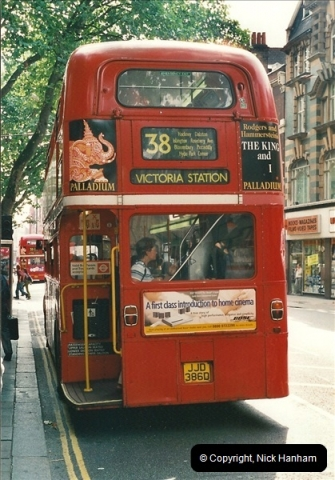 London Buses 1963 to 2007.  (479) 479