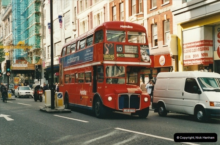 London Buses 1963 to 2007.  (486) 486