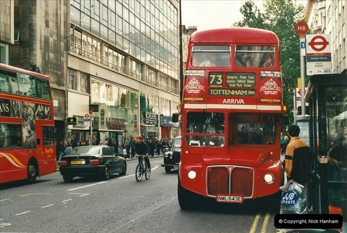 London Buses 1963 to 2007.  (487) 487