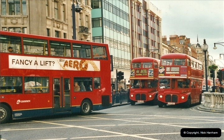 London Buses 1963 to 2007.  (491) 491