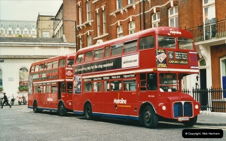 London Buses 1963 to 2007.  (494) 494