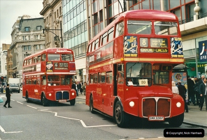 London Buses 1963 to 2007.  (496) 496