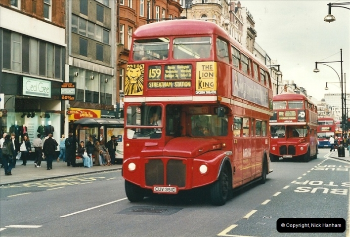 London Buses 1963 to 2007.  (497) 497