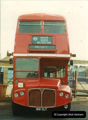 London Buses 1963 to 2007.  (5) 005