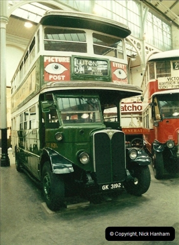 London Buses 1963 to 2007.  (50) 050