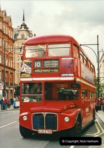 London Buses 1963 to 2007.  (500) 500