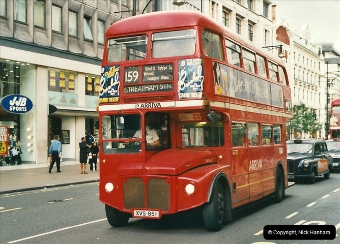 London Buses 1963 to 2007.  (503) 503
