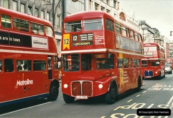 London Buses 1963 to 2007.  (504) 504