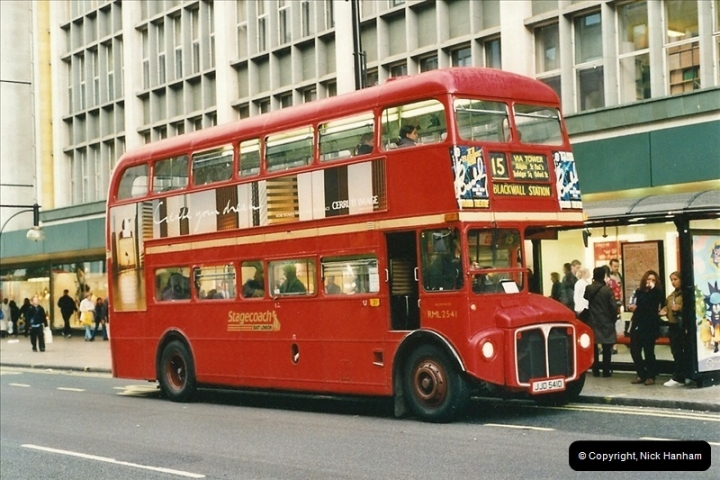 London Buses 1963 to 2007.  (507) 507