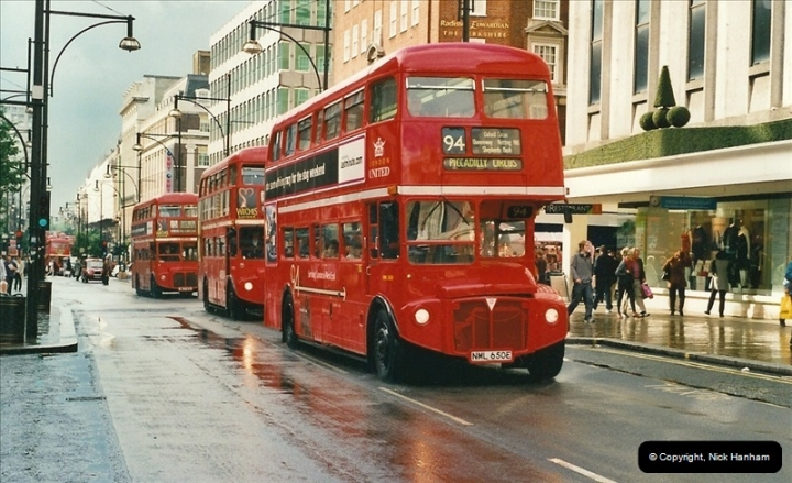 London Buses 1963 to 2007.  (508) 508