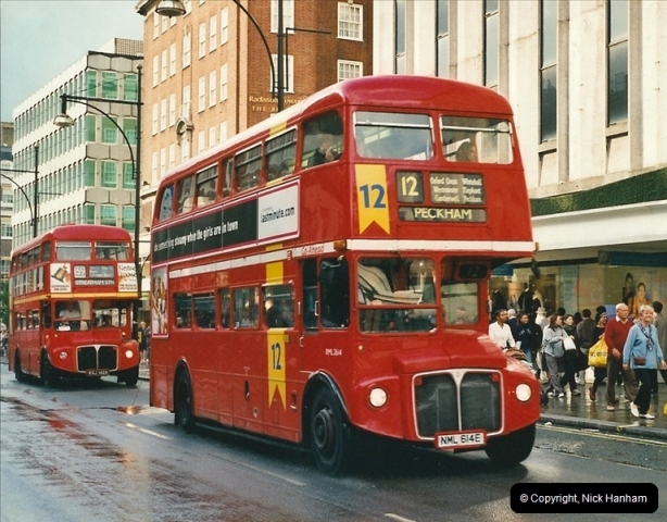 London Buses 1963 to 2007.  (509) 509
