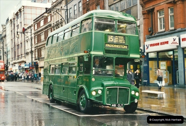 London Buses 1963 to 2007.  (511) 511