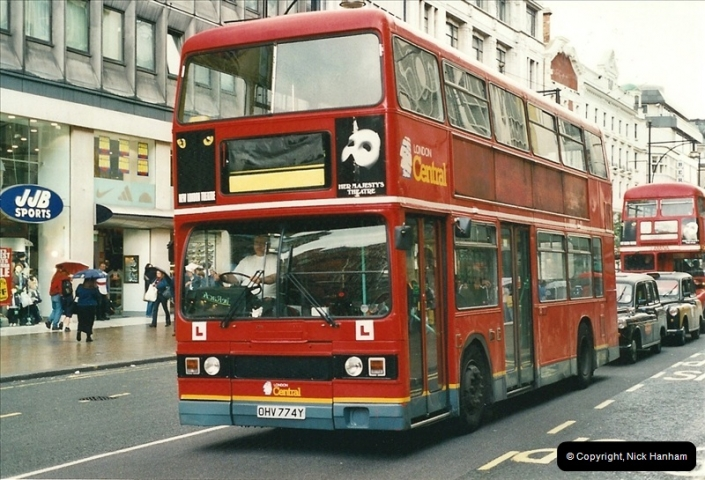 London Buses 1963 to 2007.  (514) 514
