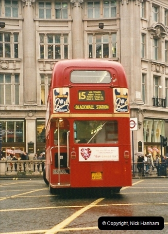 London Buses 1963 to 2007.  (523) 523