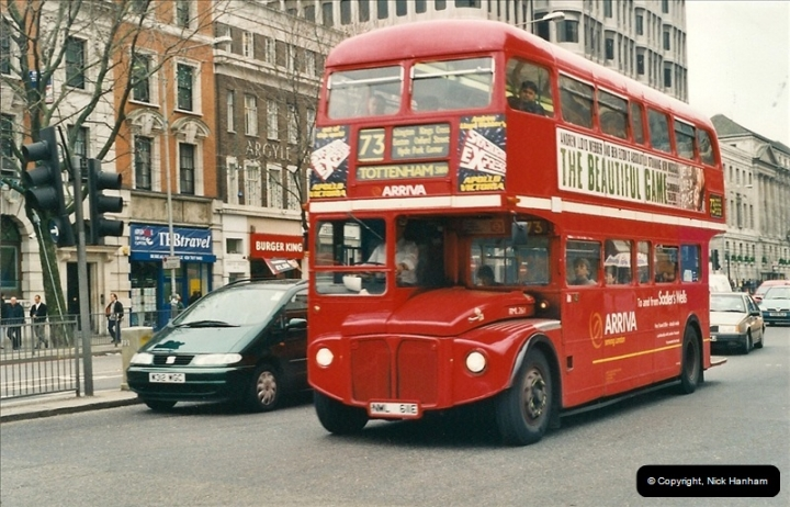 London Buses 1963 to 2007.  (526) 526