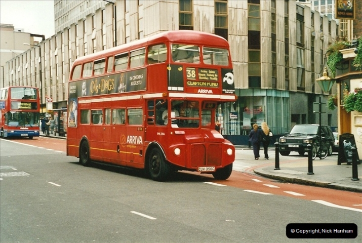 London Buses 1963 to 2007.  (535) 535