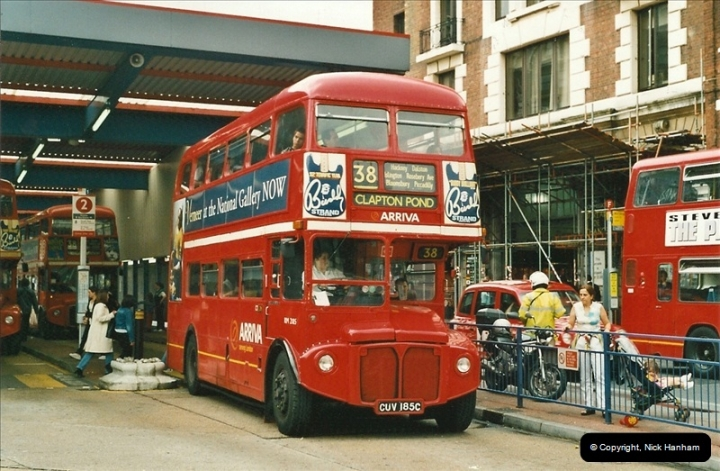 London Buses 1963 to 2007.  (536) 536