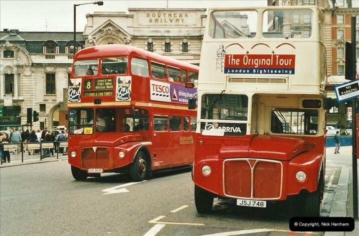 London Buses 1963 to 2007.  (539) 539
