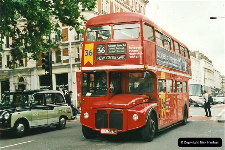 London Buses 1963 to 2007.  (546) 546