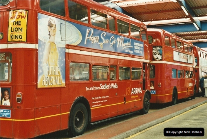 London Buses 1963 to 2007.  (547) 547