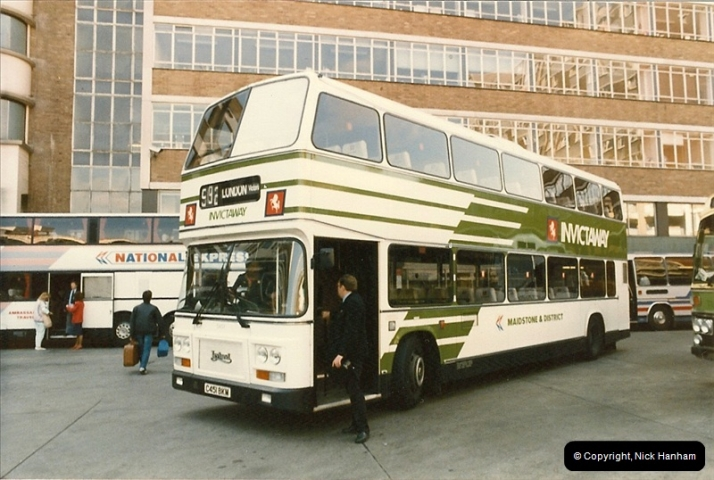 London Buses 1963 to 2007.  (55) 055