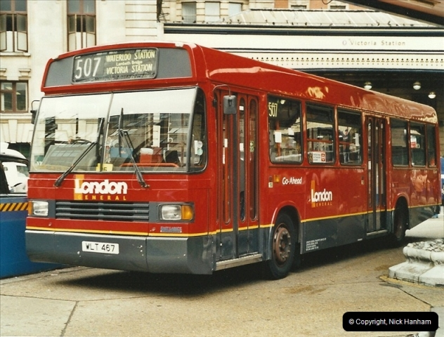 London Buses 1963 to 2007.  (550) 550