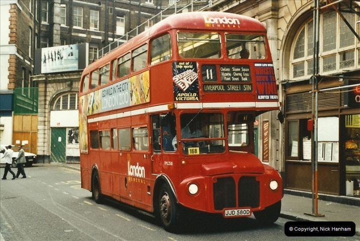 London Buses 1963 to 2007.  (551) 551