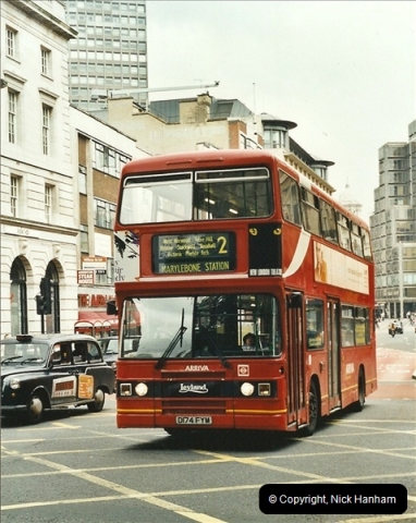 London Buses 1963 to 2007.  (557) 557
