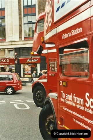 London Buses 1963 to 2007.  (561) 561