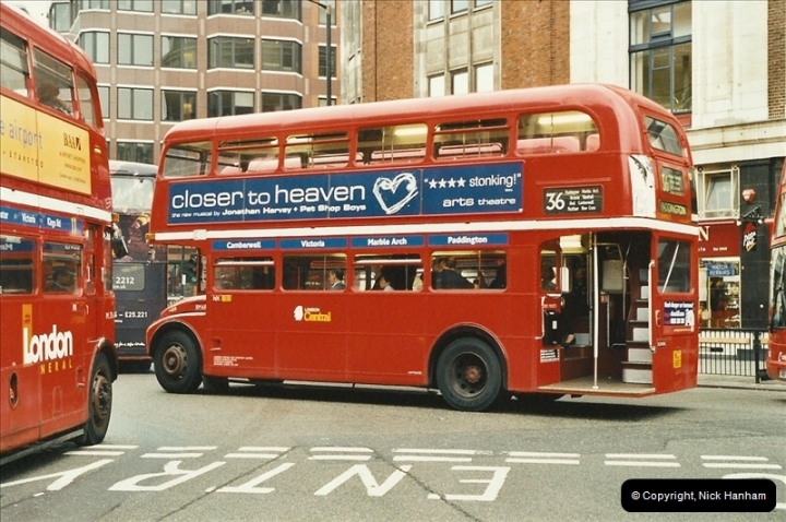 London Buses 1963 to 2007.  (563) 563