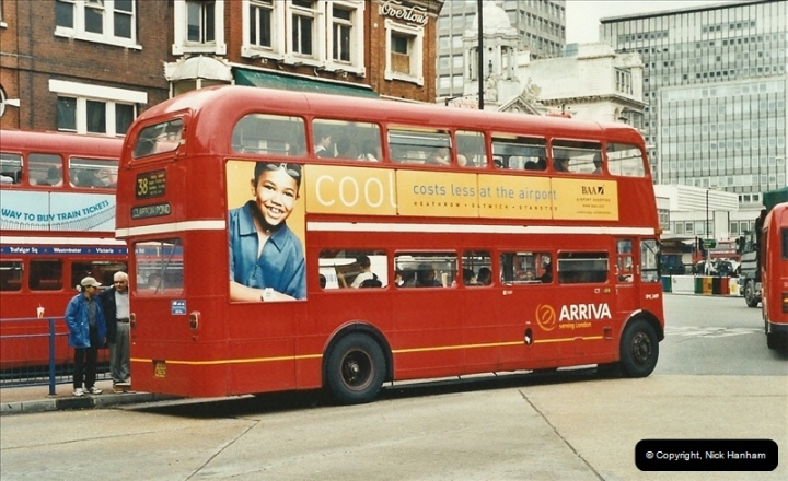 London Buses 1963 to 2007.  (565) 565