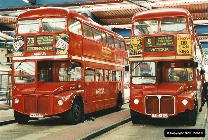 London Buses 1963 to 2007.  (566) 566