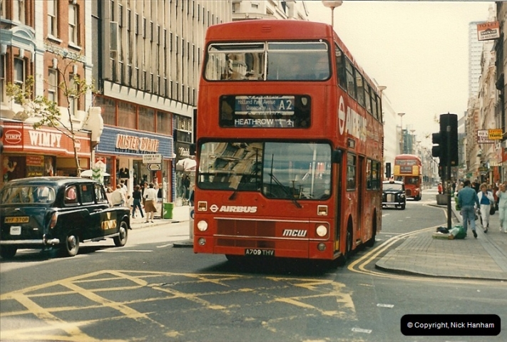 London Buses 1963 to 2007.  (57) 057