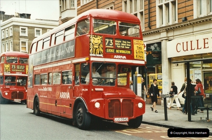 London Buses 1963 to 2007.  (573) 573