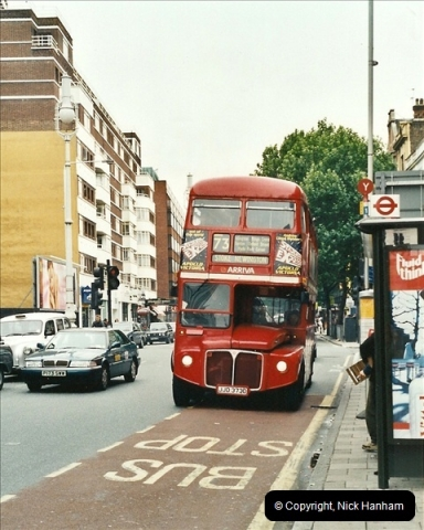 London Buses 1963 to 2007.  (575) 575