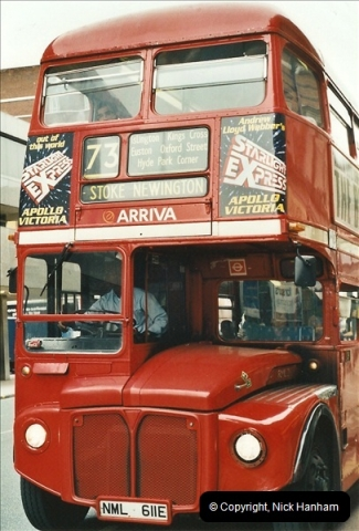 London Buses 1963 to 2007.  (576) 576