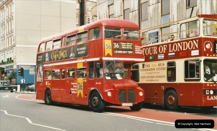 London Buses 1963 to 2007.  (583) 583