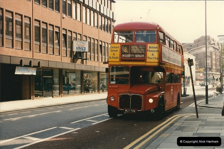 London Buses 1963 to 2007.  (59) 059