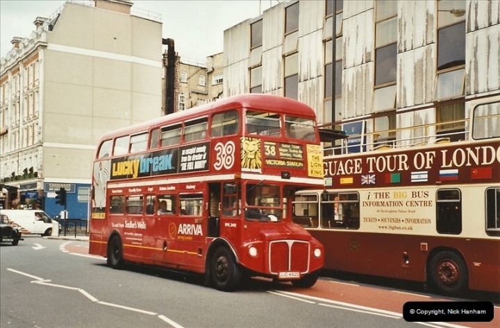 London Buses 1963 to 2007.  (590) 590
