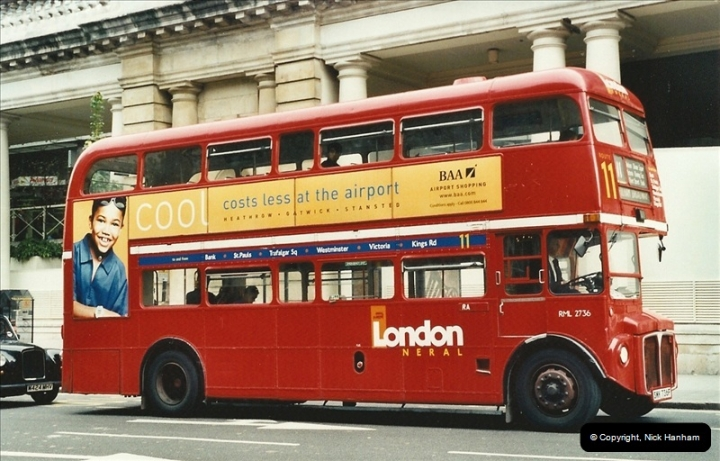 London Buses 1963 to 2007.  (599) 599