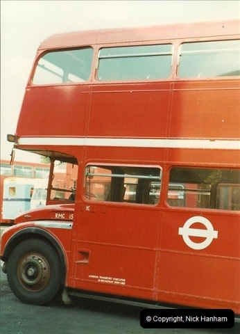 London Buses 1963 to 2007.  (6) 006