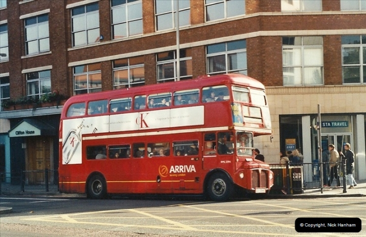 London Buses 1963 to 2007.  (601) 601