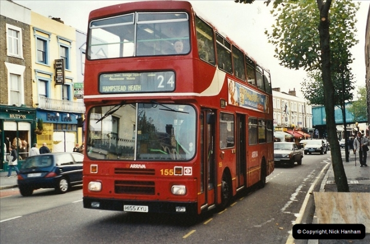 London Buses 1963 to 2007.  (603) 603