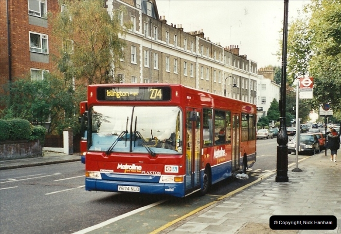 London Buses 1963 to 2007.  (605) 605