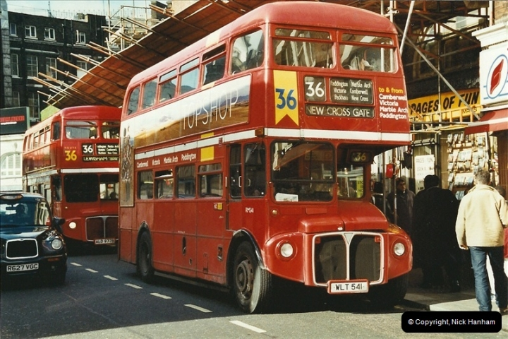 London Buses 1963 to 2007.  (612) 612