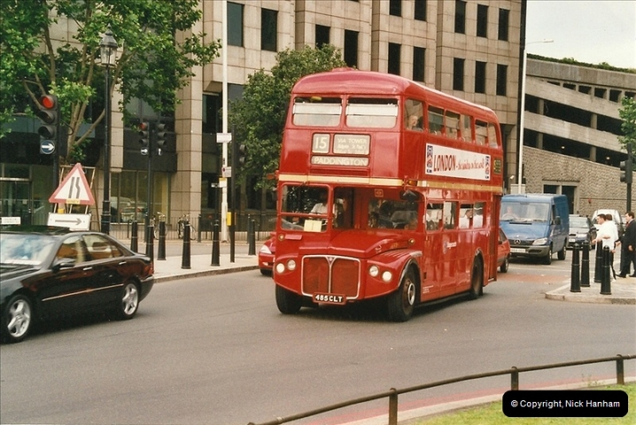 London Buses 1963 to 2007.  (620) 620