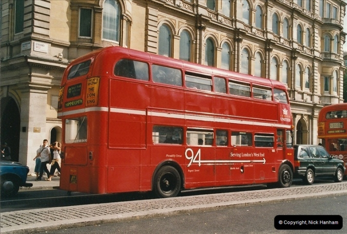 London Buses 1963 to 2007.  (623) 623