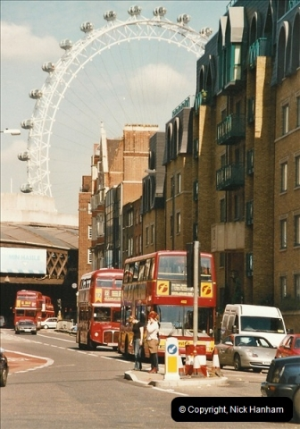 London Buses 1963 to 2007.  (624) 624