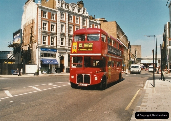 London Buses 1963 to 2007.  (625) 625