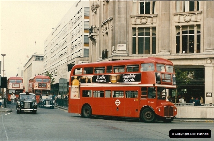 London Buses 1963 to 2007.  (63) 063